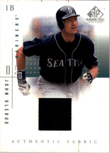 Photo of 2001 SP Game Used Edition Authentic Fabric #JO John Olerud