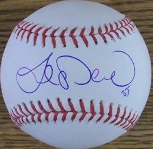 Photo of Joe Saunders Autographed Baseball