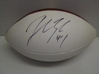 PATRIOTS - JOHN LYNCH SIGNED PANEL BALL