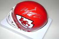 CHIEFS - MARCUS PETERS SIGNED CHIEFS MINI HELMET
