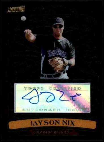 Photo of 2008 Stadium Club Beam Team Autographs #JN Jayson Nix AUTO