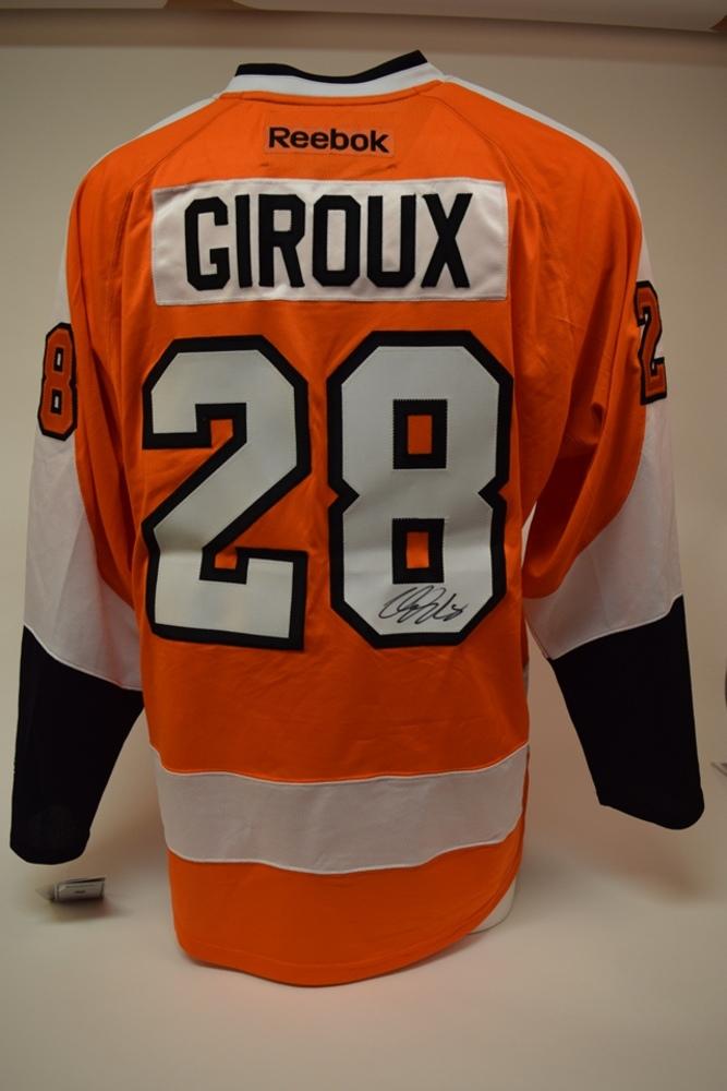 Chandail des Flyers de Philadelphie autographié par Claude Giroux | Claude Giroux autographed Philadelphia Flyers jersey