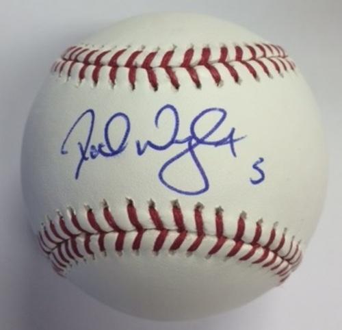Photo of David Wright Autographed Baseball