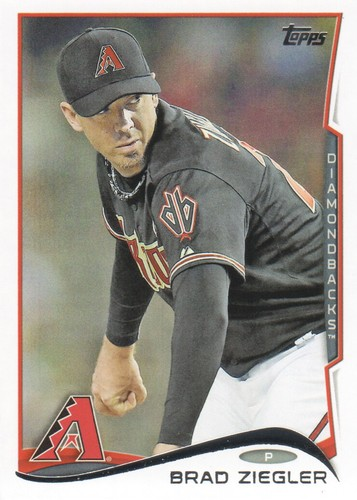 Photo of 2014 Topps #556 Brad Ziegler