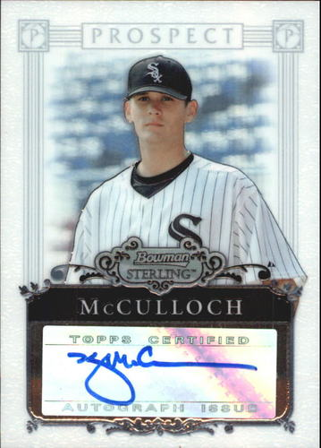 Photo of 2006 Bowman Sterling Prospects #KM Kyle McCulloch AU B