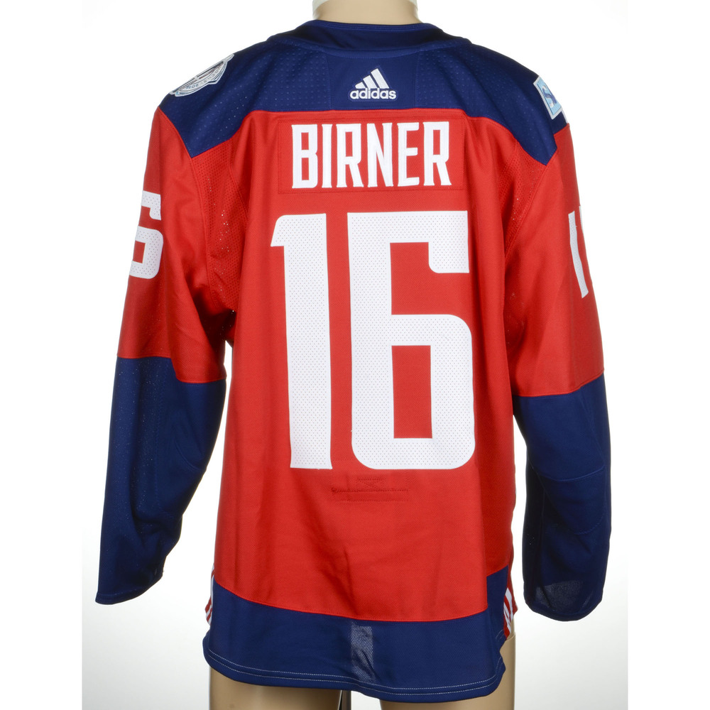 Michal Birner Game-Worn 2016 World Cup of Hockey Team Czech Republic Jersey, Worn Against Team Europe On September 19th