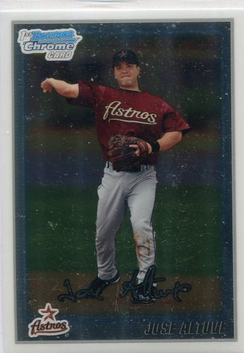 Photo of 2010 Bowman Chrome Prospects #BCP137 Jose Altuve
