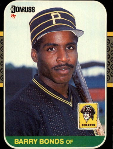 Photo of 1987 Donruss #361 Barry Bonds Rookie Card