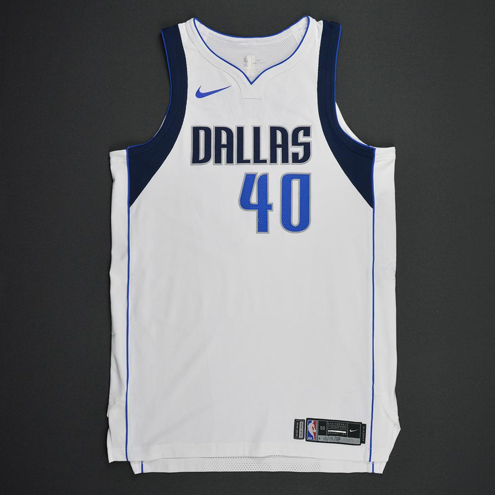 Harrison Barnes - Dallas Mavericks - Kia NBA Tip-Off 2017 - Game-Worn Jersey