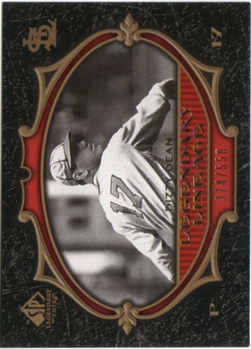 Photo of 2007 SP Legendary Cuts #192 Dizzy Dean LL