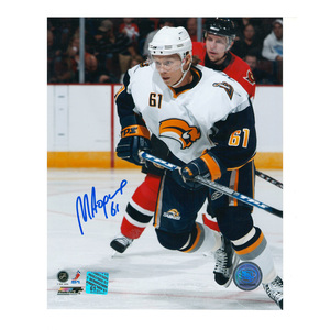 MAXIM AFINOGENOV Signed Buffalo Sabres 8 X 10 Photo - 70405