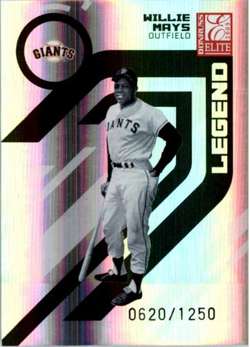 Photo of 2005 Donruss Elite #169 Willie Mays RET
