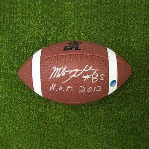 Milt Stegall Autographed CFL Wilson Composite Football - Winnipeg Blue Bombers