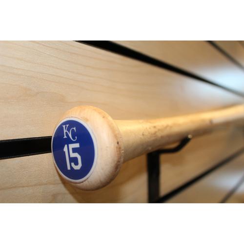 Photo of Game-Used Whit Merrifield Broken Bat (7/3/17 KC at SEA)