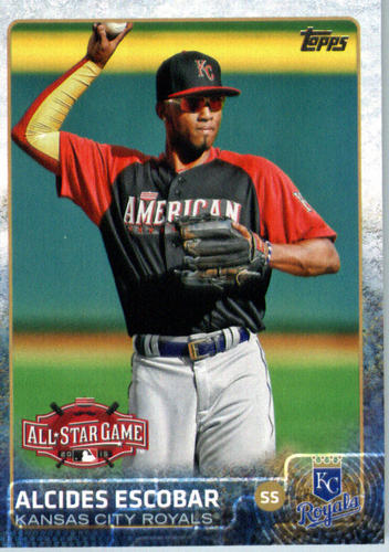 Photo of 2015 Topps Update #US386 Alcides Escobar