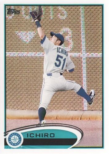 Photo of 2012 Topps #537A Ichiro Suzuki