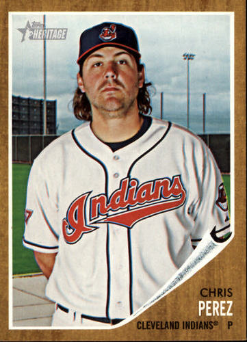 Photo of 2011 Topps Heritage #273 Chris Perez