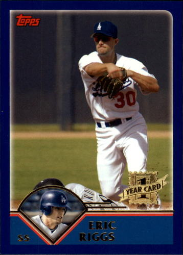 Photo of 2003 Topps Traded #T205 Eric Riggs FY RC