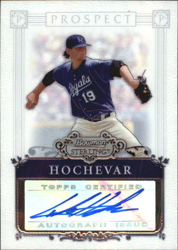 Photo of 2006 Bowman Sterling Prospects #LH Luke Hochevar AU A