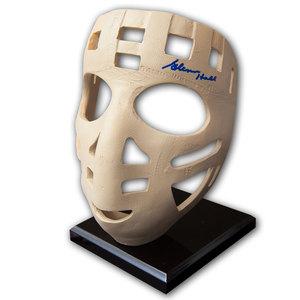 Glenn Hall St. Louis Blues Autographed Full Size Replica Mask
