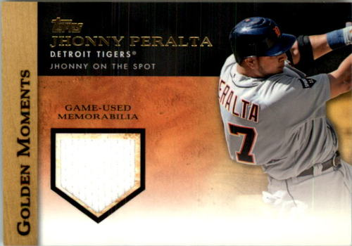 Photo of 2012 Topps Golden Moments Relics #JP Jhonny Peralta S2