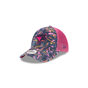 Youth Denim Splat Trucker Cap by New Era