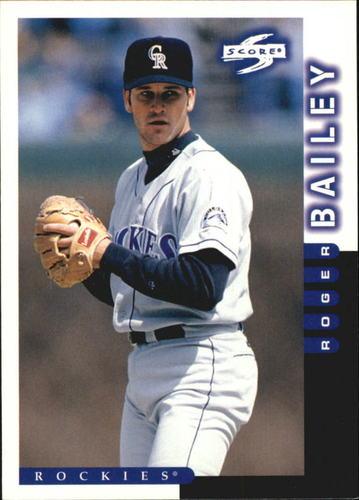 Photo of 1998 Score #158 Roger Bailey