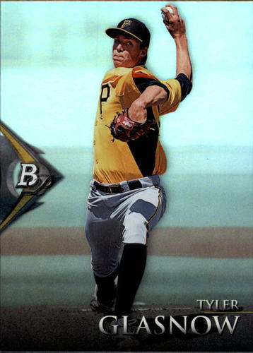 Photo of 2014 Bowman Platinum Prospects #BPP52 Tyler Glasnow