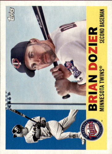 Photo of 2017 Topps Archives #49 Brian Dozier -- Twins post-season