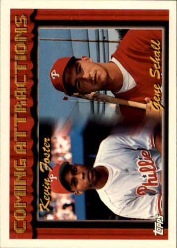 Photo of 1994 Topps #786 K.Foster RC/G.Schall