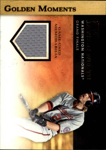 Photo of 2012 Topps Golden Moments Relics #JWE Jayson Werth