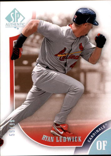 Photo of 2009 SP Authentic Copper #47 Ryan Ludwick