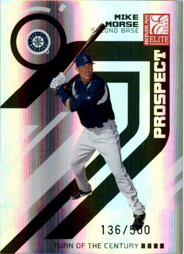 Photo of 2005 Donruss Elite Turn of the Century #172 Mike Morse