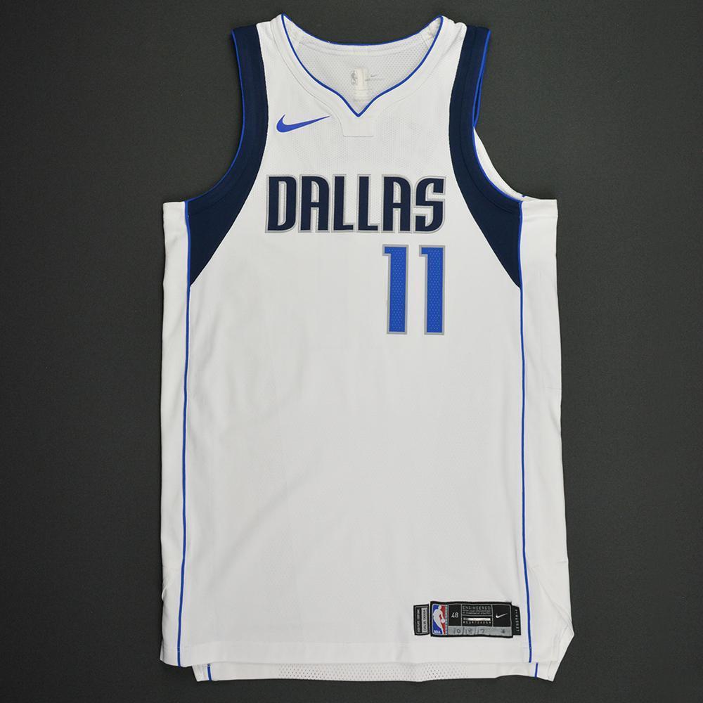 Yogi Ferrell - Dallas Mavericks - Kia NBA Tip-Off 2017 - Game-Worn Jersey