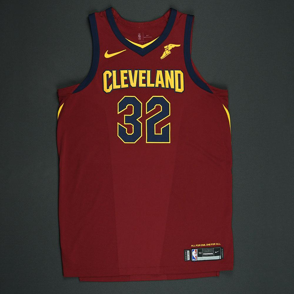 Jeff Green - Cleveland Cavaliers - 2018 NBA Playoffs Game-Worn Jersey - Worn in 4 Games