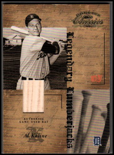 Photo of 2004 Donruss Classics Legendary Lumberjacks Material #26 Al Kaline/100