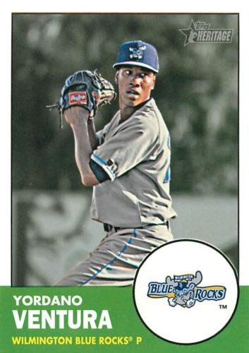 Photo of 2012 Topps Heritage Minors #106 Yordano Ventura