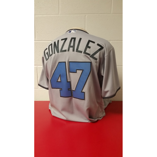 Game-Used Jersey - Gio Gonzalez