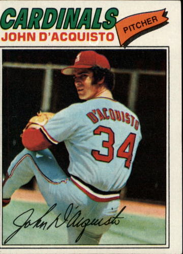 Photo of 1977 Topps #19 John D'Acquisto