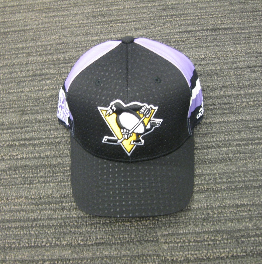 Matt Murray 2017 HFC Player Cap from Player Media Tour - Pittsburgh Penguins