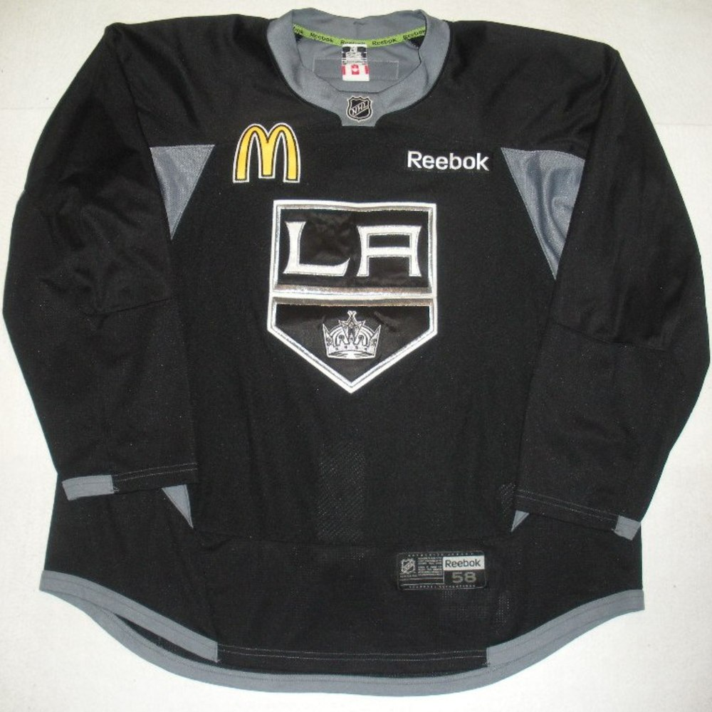 Brayden McNabb - 2014 Stanley Cup Final - Los Angeles Kings - Practice-Worn Jersey