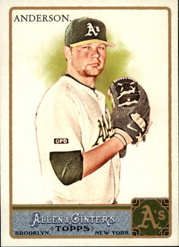 Photo of 2011 Topps Allen and Ginter #13 Brett Anderson