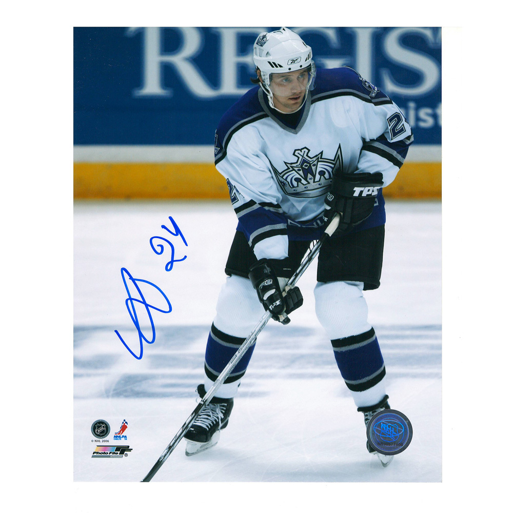 ALEXANDER FROLOV Signed Los Angeles Kings 8 X 10 Photo - 70410