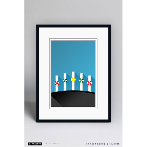 Photo of Minimalist Guaranteed Life Field Framed Gilcée Print - Chicago White Sox