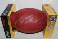 DOLPHINS - MIKE WALLACE SIGNED AUTHENTIC FOOTBALL (SLIGHT SMUDGE)