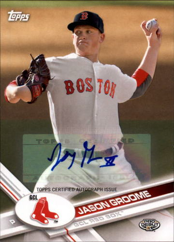 Photo of 2017 Topps Pro Debut Autographs #138 Jason Groome RC AUTO