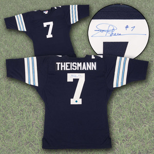 Joe Theismann Toronto Argonauts Autographed Custom CFL Football Jersey