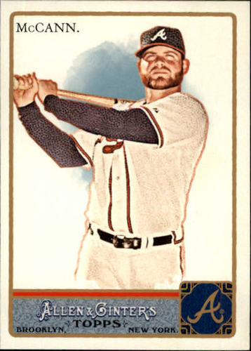 Photo of 2011 Topps Allen and Ginter #245 Brian McCann