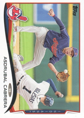 Photo of 2014 Topps #559 Asdrubal Cabrera