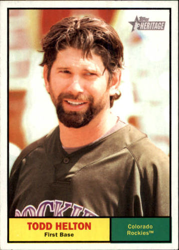 Photo of 2010 Topps Heritage #364 Todd Helton